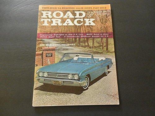 Road Track Nov 1961 Buick V-6; Mercedes 220-SE; Fiat - Mercedes 600d