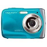 Easypix 10012 Unterwasser Digitalkamera 'Aquapix W1024-I Splash' in Eisblau