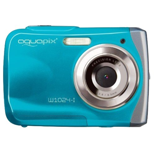 Mit einer Unterwasserkamera (z.B. Easypix) können Sie unter Wasser wundervolle Aufnahmen machen.