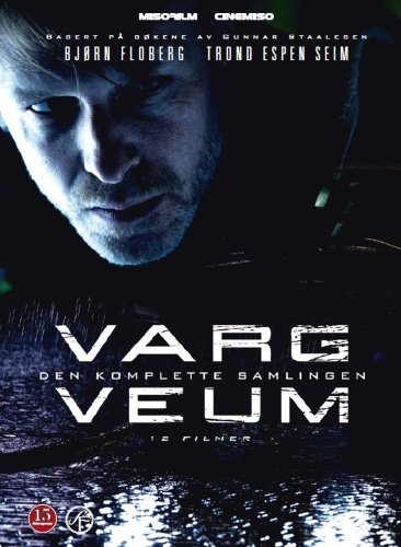Varg Veum Collection - 12-DVD Box Set ( Bitre blomster / Tornerose / Din til døden / Falne engler / Kvinnen i kjøleskapet / Begravde hunder / Skriften på [ NON-USA FORMAT, PAL, Reg.2 Import - Norway ] (Hove Collection)