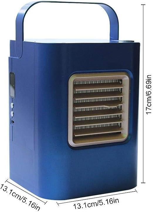 Cool - Aire acondicionado USB portátil, mini refrigerador ...