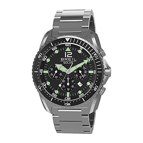 BREIL Watch SUBACQUEO SOLARE Male Chronograph Titanium - TW1752