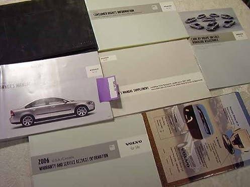 2006 volvo s40 owners manual volvo amazon com books rh amazon com 2006 Volvo S40 Reliability 2006 Volvo V40
