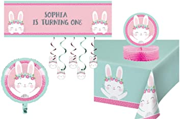 TLP Online Birthday Bunny Party Decorations