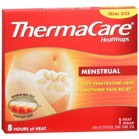 ThermaCare HeatWraps: Menstrual, 1-Count (Pack of 9)