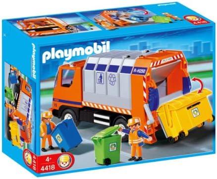 B000OCXOGG Playmobil Car Recycling Truck 512iRDMU4zL.