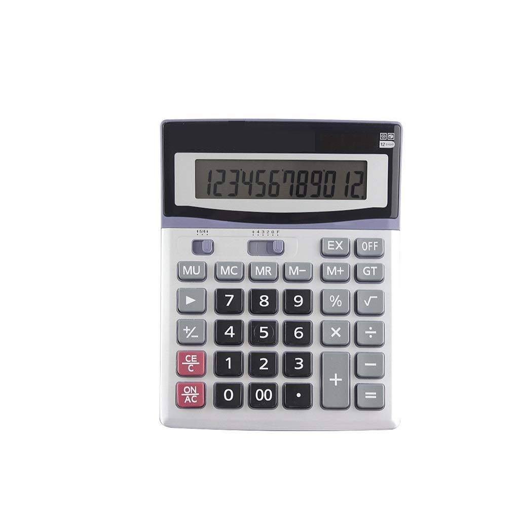 RJ HOME Financial Accounting Calculator 12 Digit Display Calculator Office Supplies