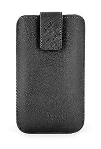 Echo ECHFM005 - Funda Pocket Universal 2Xl Para Smartphones Negro