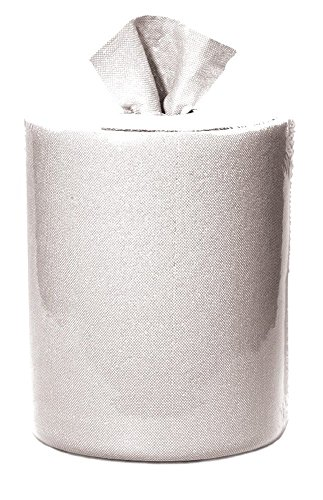 GP PRO Brawny Professional 20045 D300 Disposable Cleaning Towel, Centerpull Roll Bucket Refill, White