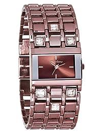 Marciano Women's | Metallic Heather Rhinestone Accented Self-Adjustable Watch | FC0173