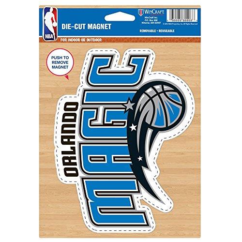 - Wincraft NBA Orlando Magic Die Cut Logo Magnet, 6.25