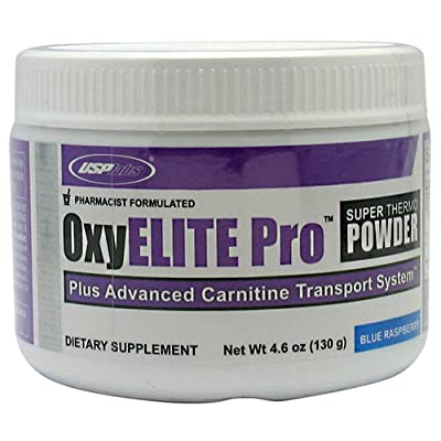 Oxy Elite Powder 60 Servings - No Dmaa (blue Raspberry) by USP Labs
