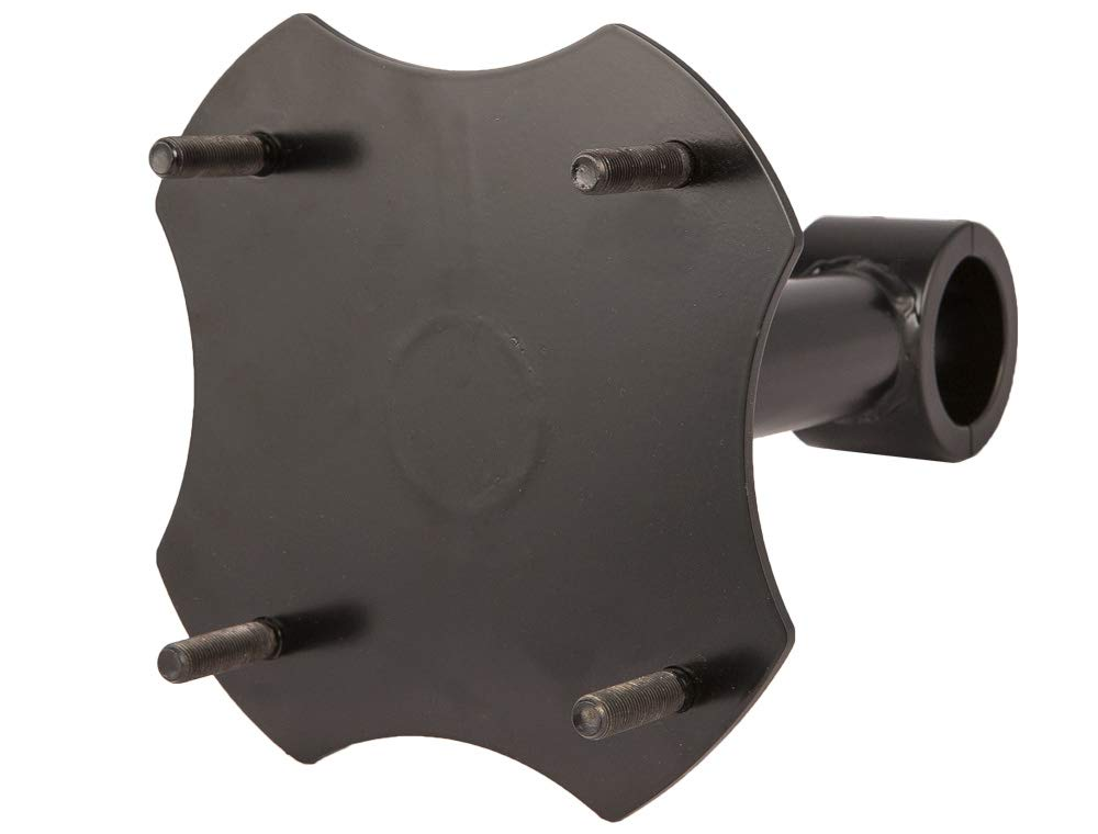 Stud Size 3//8, Raw PRP Polaris RZR 900 and 900 4 Spare Tire Mount with 1.50/″ Tube Clamp Raw
