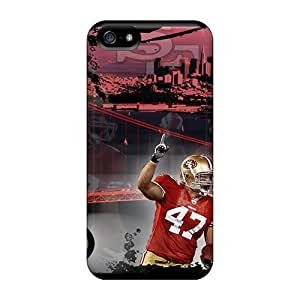 Iphone 5/5s Kny8821rrvn San Francisco 49ers Tpu Silicone Gel Cases Covers. Fits Iphone 5/5s