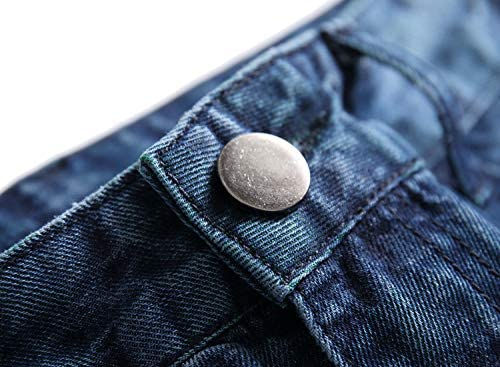 LAMKUKU Men's Ripped Jeans Slim Fit Casual Distressed Denim Pants    Product Description