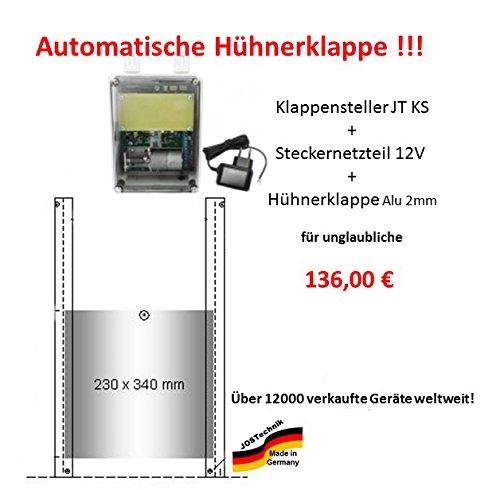 automatische Hühnerklappe mit Klappe/Schieber - Direkt vom Hersteller!