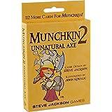 Steve Jackson Games SJG 1410 Munchkin 2 Unnatural Axe Revised Edition
