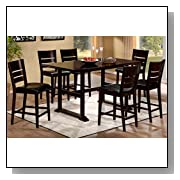 Whitfield 7-Piece Counter Height Dining Set