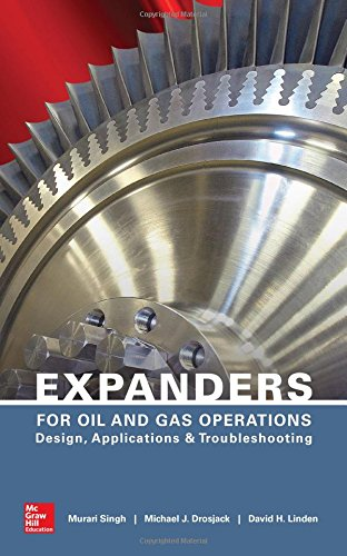 Expanders for Oil and Gas Operations: Design, Applications, and Troubleshooting