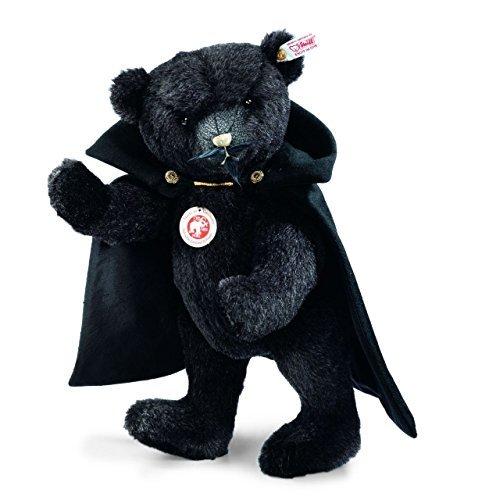 LIMITED ED.: Salvador Teddy bear, black by Steiff