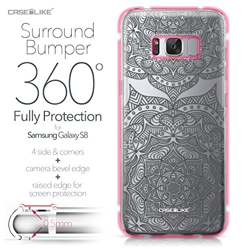 CASEiLIKE Funda Samsung J5 2017 , Carcasa Samsung Galaxy J5 (2017), Arte de la mandala 2090, TPU Gel silicone protectora cover Arte de la mandala 2304