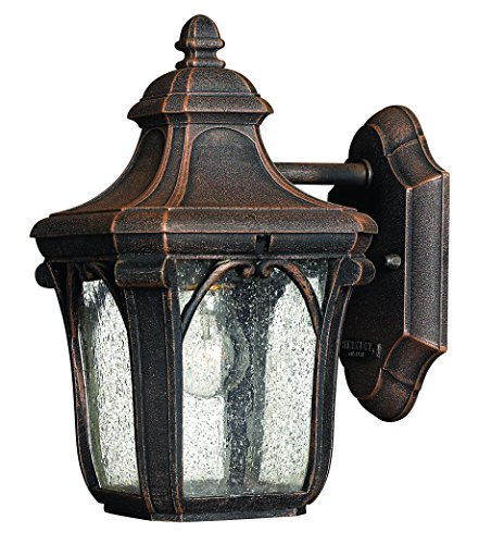 Hinkley 1316MO Traditional One Light Wall Mount from Trafalgar collection in Bronze/Darkfinish,