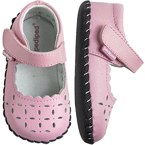 Pediped Infant Shoes - pediped Katelyn Originals Mary Jane (Infant/Toddler),Pearl Pink,Small (6-12 Months)