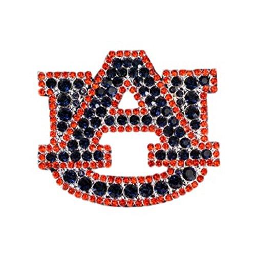 Auburn Tigers Crystal Logo Pin