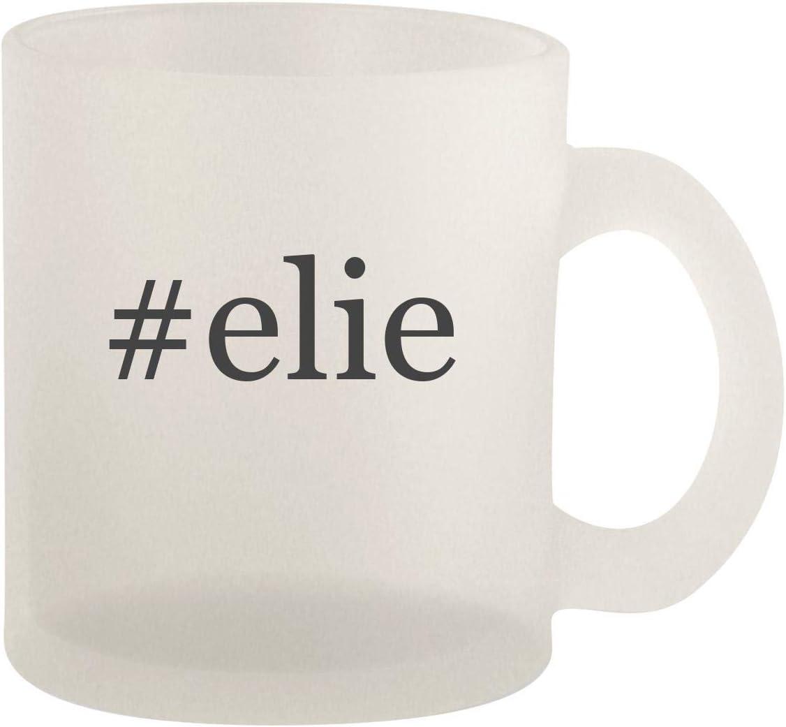 #elie - Glass 10oz Frosted Coffee Mug 512iWeV1cdL