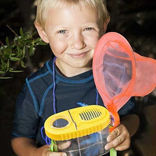 Fischernetz Kinder ausziehbare Teleskop Teichnetze Butterfly Insect Bug Catcher
