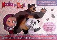 Masha e o Urso: Prancheta Para Colorir com Adesivos