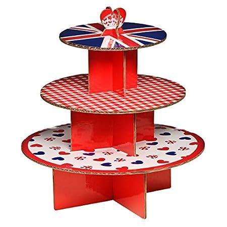 Premier Housewares I Love UK 3 Tier Cake Stand 512iXjfZIiL