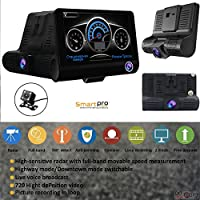 RADAR DETECTOR, 2018 NEW 2 IN 1 CAR SPEED TRAP DETECTOR, WITH HD DVR DASH CAM, 2 in 1 HD DASH CAM by SMART TECH