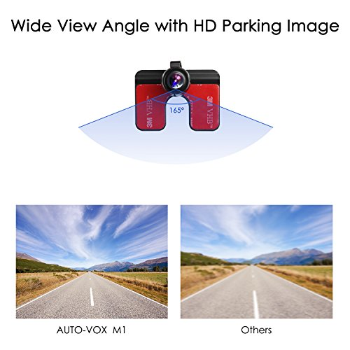 auto vox m1 backup camera kit rearview back up camera. Black Bedroom Furniture Sets. Home Design Ideas