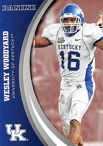 timeless design ea978 f7c9c Wesley Woodyard football card (Kentucky Wildcats) 2016 ...