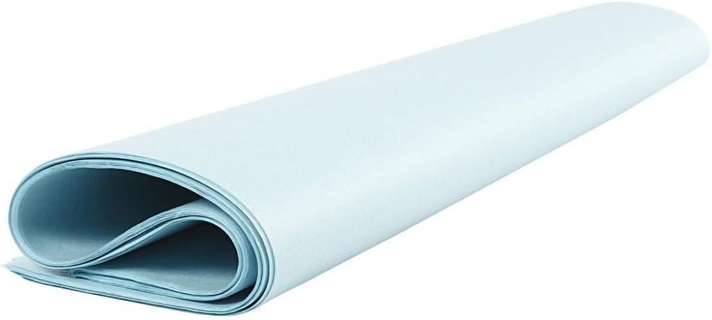 Hellblau Creavvee Decoupage-Papier 50 x 70 cm Seidenpapier 28 Blatt