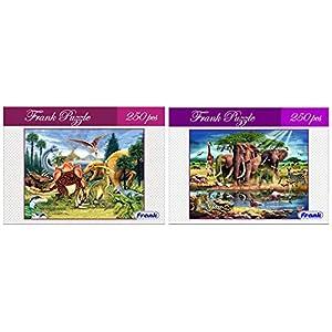 Frank Dinosaur Country Puzzle, Multicolor...