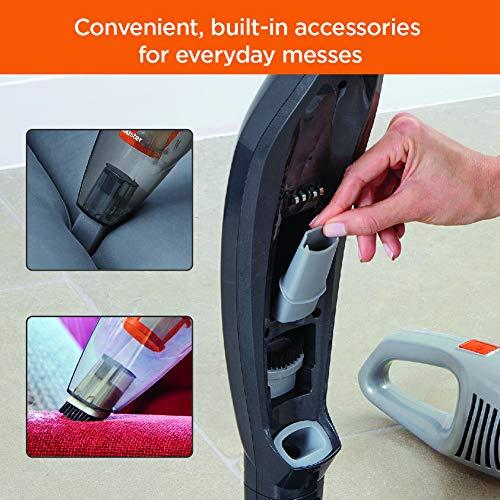 BLACK+DECKER POWERSERIES Cordless Stick Vacuum Cleaner & Hand Vac, 2-in-1, Titanium Gray (HSVB420J)