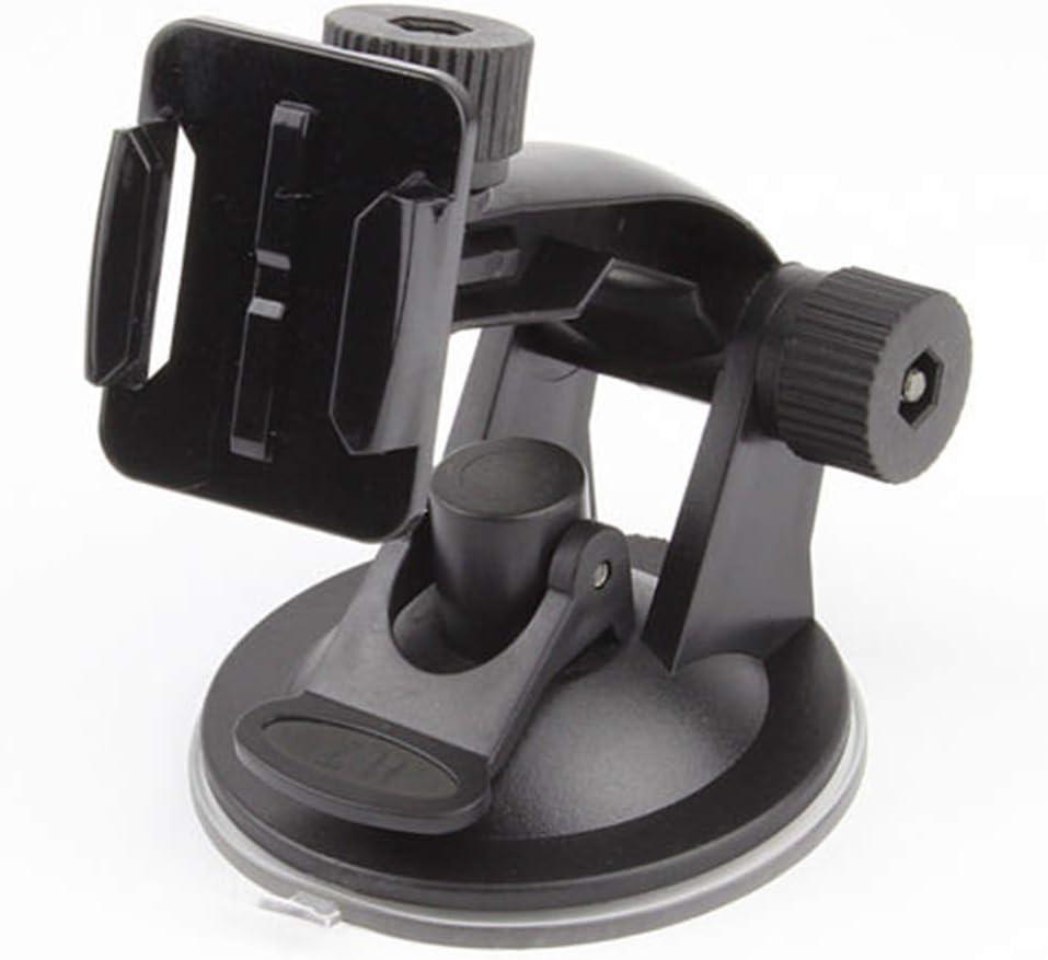 XQxiqi689sy Soporte de soporte para parabrisas de coche para cámara GoPro Hero 2 3+ 4 5 6 7
