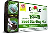 Burpee 8 qt Organic Coir Compressed Seed Starting Mix 1-Brick