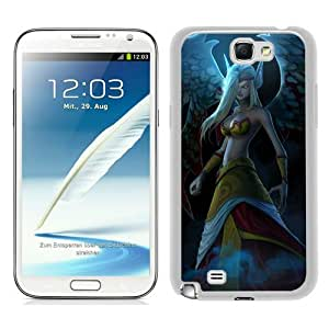 PAN Personalized Design exiled morgana White Samsung Galaxy Note 2 7100 Case