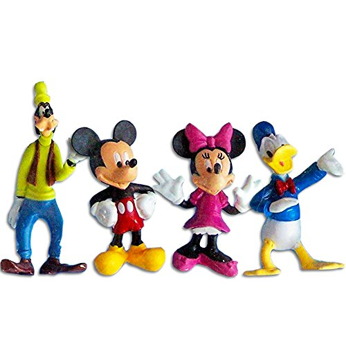 Disney Mickey Mouse Clubhouse & Friends Cake Toppers Set of 4 Figurines -