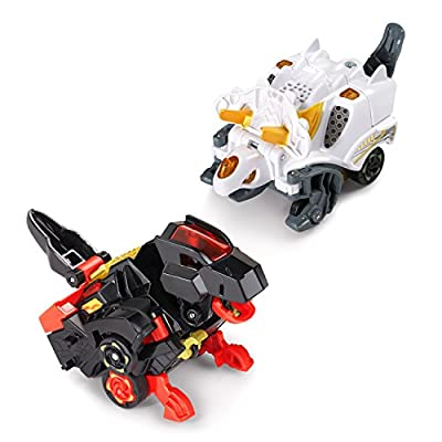 VTech Switch & Go Dinos - Speedy Dinos 2-pack with Dart & Zipp