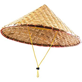 37557a45a11 Funny Party Hats Oriental Hat - Asian Hat - Chinese Hat - Japanese Hat –  Conical Hat – Rice Farmer Hats