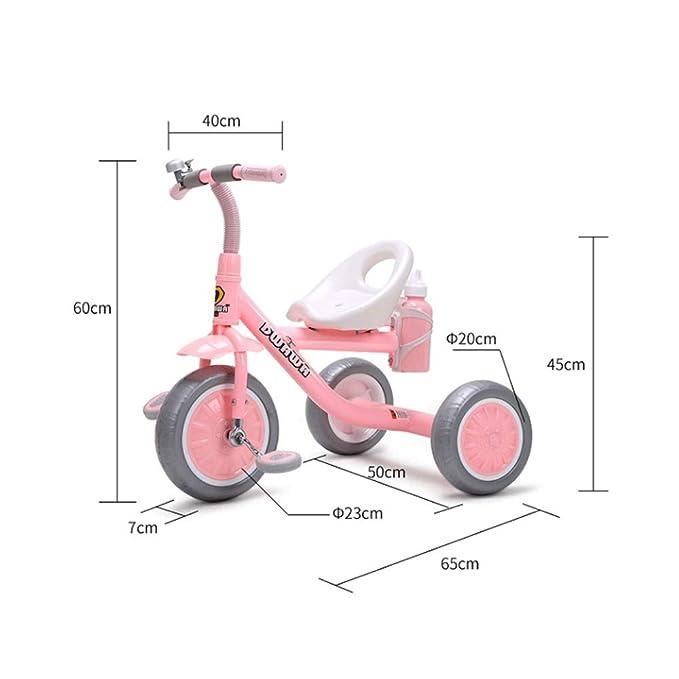 MEILA Bicicleta Triciclo de niños 1-3-6 años de Edad Carro ...