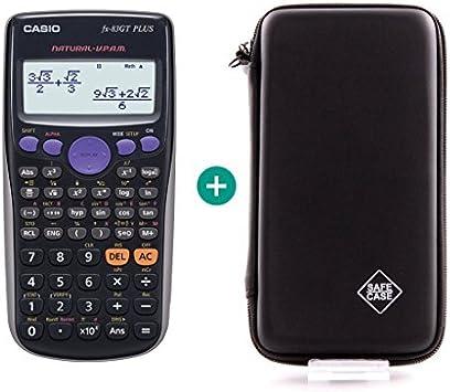 Casio FX83 GT Plus Caja compacta Negro: Amazon.es: Oficina y papelería