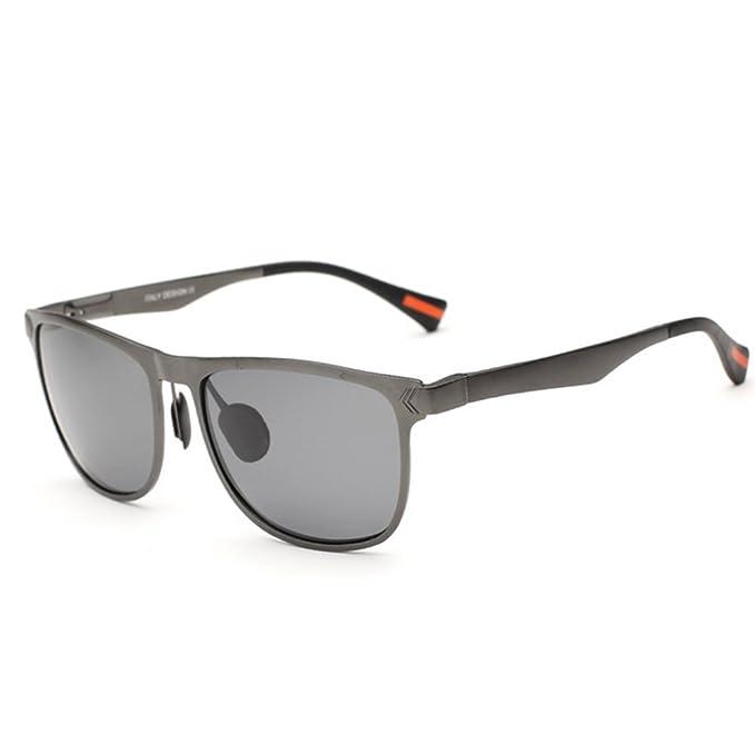 Gafas de sol/Espejo de caja amplia en marco aluminio ...