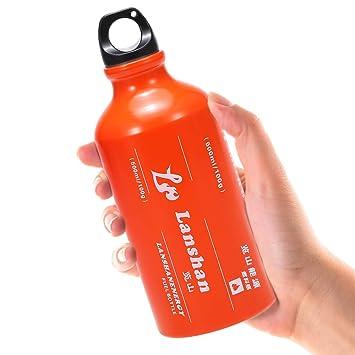 Lixada 500ml Botella de Combustible de Gasolina Gas de ...