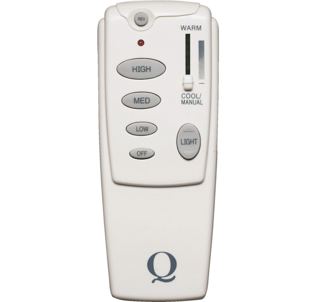 Quorum International 7-1401-0 Forward/Reverse Fan Remote Control, White