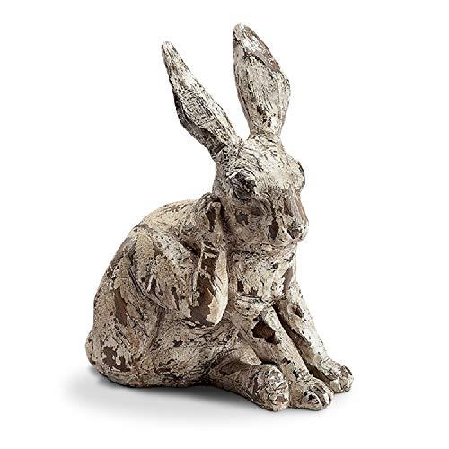 (SPI Home Scratching Rabbit Garden Sculpture (11 inches)